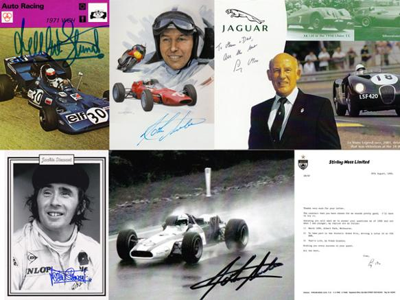 GBA-MOTOR-Jackie-Stewart-John-Surtees-Stirling-Moss-autograph-signed-motor-racing-formula-one-f1-grand-prix-Graham-Budd-auctions-sports-memorabilia