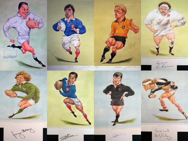 GBA-RUGBY-John-Ireland-prints-Andy-Ripley-autograph-signed-rugby-michael-lynagh--rob-andrew-rory-underwood-Graham-Budd-auctions-sports-memorabilia