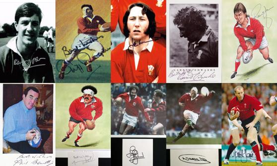 GBA-RUGBY-Wales-Cliff-Morgan-autograph-signed-rugby-gareth-edwards-jpr-williams-barry-john-mervyn-davies-Graham-Budd-auctions-sports-memorabilia-sale-sothebys