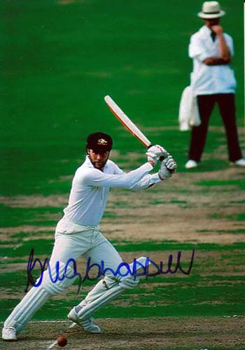 GREG CHAPPELL memorabilia signed-Australia-cricket memorabilia Ashes photo