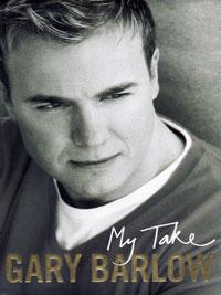 GARY BARLOW (Take That, X Factor) signed autobiography