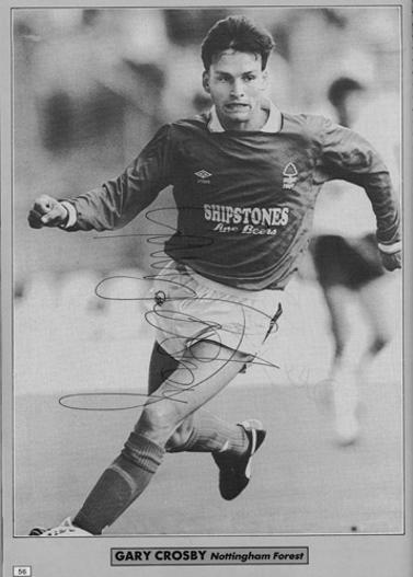 Gary-Crosby-autograph-signed-Nottingham-Forest-fc-football-memorabilia-Nottm-signature
