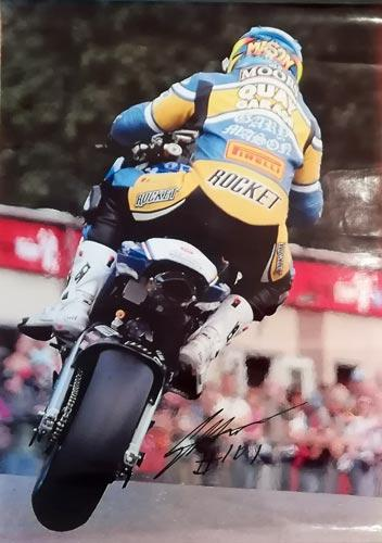 Gary-Mason-autograph-signed-motor-cycling-memorabilia-BSB-British-Superbike-Championship-Quay-Garage-2009-privateers-champion-101-honda