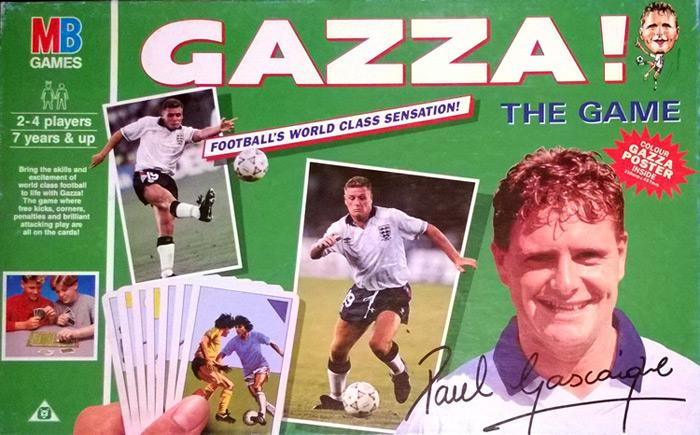 Paul Gascoigne Gazza Football board game