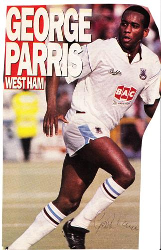 George Parris autograph-signed-West-Ham-United-fc-football-memorabilia-west-ham-utd-hammers-signature-whufc-upton park-irons