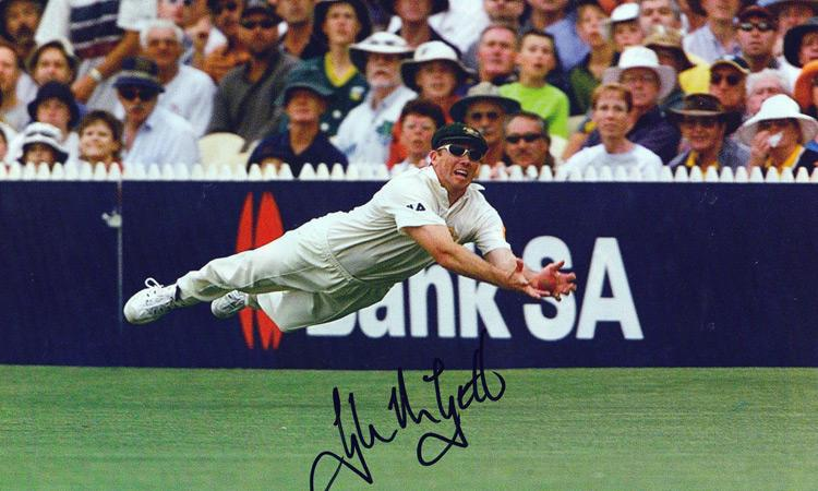 GLENN McGRATH hand-signed