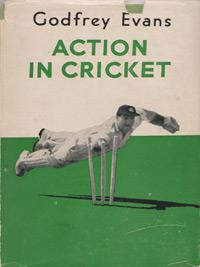 Godfrey-Evans-autograph-kent-cricket-memorabilia-signed-autobiography-book-action-in-cricket-first-edition-1956-kccc-signature-tga-200