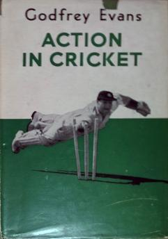 Godfrey-Evans-memorabilia-godfrey-evans-autograph-signed-autobiography-book-action-in-cricket-first-edition-kent-cricket-memorabilia-kccc-1956