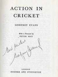 GODFREY EVANS (Kent & England) signed copy of