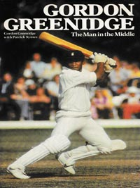Gordon-Greenidge-autograph-signed-west-inside-cricket-memorabilia-hants-ccc-the-man-in-the-middle-autobiography-book