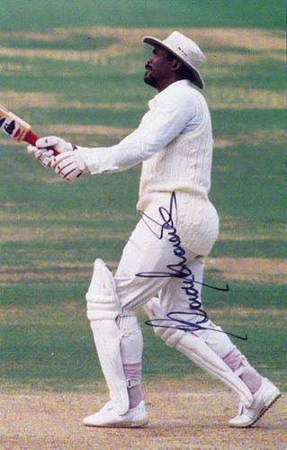 Gordon-Greenidge-autograph-signed-photo-west-indies-cricket memorabilia hampshire-hants-autograph-cuthbert-lashings-barbados-signature