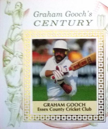 Graham-Gooch-autograph Essex England Centuries signed cricket-FDC-first day cover autographed