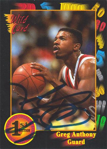 Greg-Anthony-autograph-signed-New-York-Knicks-NBA-memorabilia-basketball-UNLV-Running-Rebels