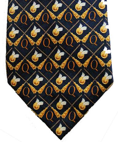 Harry-Potter-memorabilia-Quidditch-silk-tie-2001-Official-Motif-Woven-Necktie-Golden-Snitch-Broom-500