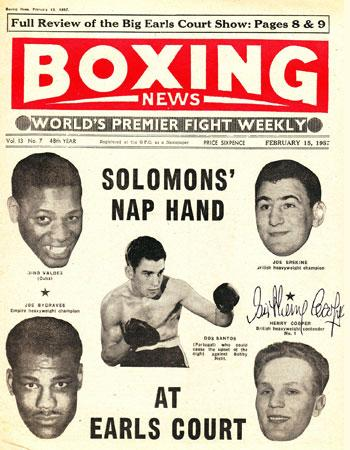 Henry-Cooper-signed-1957-Boxing-News-paper-cover