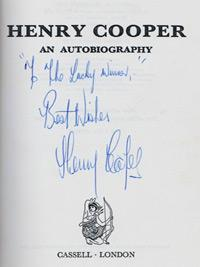 Henry-cooper-signed-boxing-memorabilia-autobiography-Sir-first-edition-1972-cassell-signature-autograph-200