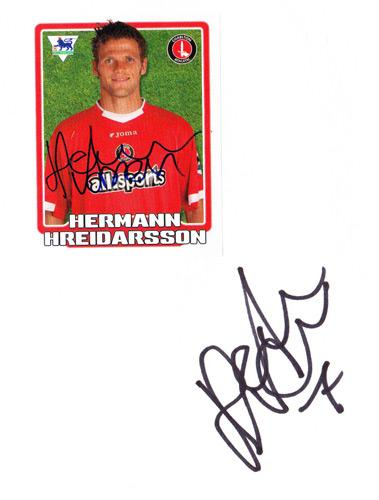 Herman-Hreidarsson-autograph-signed-Charlton-Athletic-FC-football-memorabilia-signature-photo-CAFC-Addicks