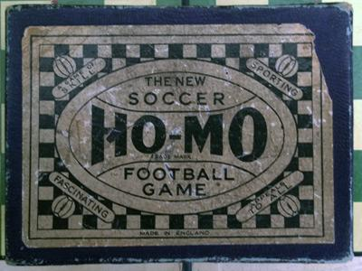 Ho-Mo-Football-the-new-soccer-game-vintage-table-board-dice-skill-tactics-box-1930