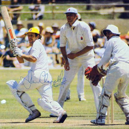 IAN CHAPPELL memorabilia signed Ashes Australia cricket memorabilia photo autograph