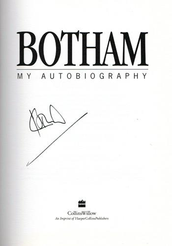 IAN-BOTHAM-autograph-My-Autobiography-Dont-Tell-Kath-signed-book-england-cricket-memorabilia-1st-edition-signature