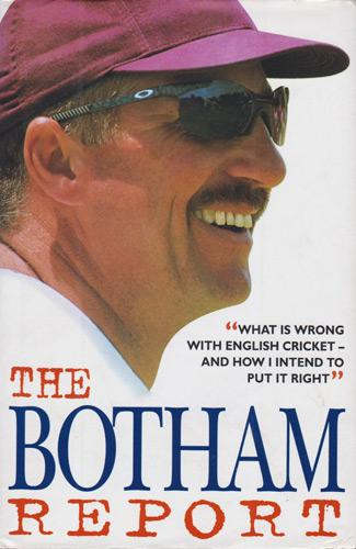 Ian-Botham-autograph-signed-England-cricket-memorabilia-autographed-book-The-Botham-Report-Somerset-CCC-Durham-Sir-IT-Ashes-Sky-Sports