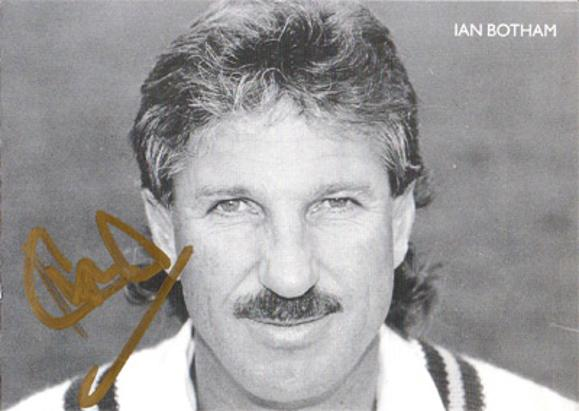 Ian-Botham-autograph-signed-england-cricket-memorabilia-somerset-ccc-worcs-durham-sir-it-beefy-all-rounder-1981-ashes-test-sky-tv-signature
