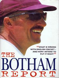 Sir Ian Botham signed autographed Bothams Report Century first edition cricket book cover
