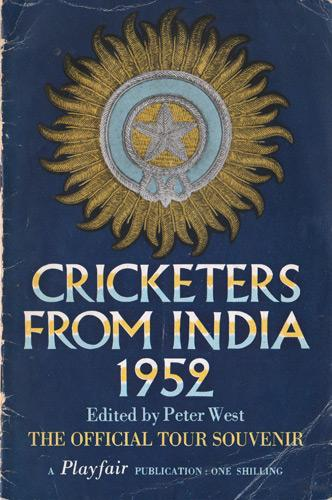 Indian-cricket-memorabilia-player-1952-tour-squad-england-cricketers-from-India-booklet-official-souvenir-peter-west-playfair-books