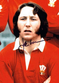 JPR WILLIAMS memorabilia (Wales & Lions) signed photo rugby memorabilia