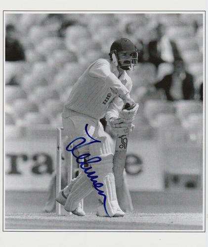 Jack-Russell-autograph-signed-England-cricket-memorabilia-Gloucestershire-CCC-GCCC-MCC-wicket-keeper-artist
