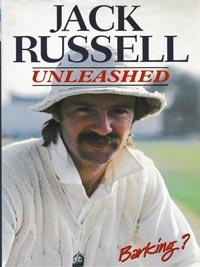 Jack-Russell-autograph-signed-england-cricket-memorabilia-book-unleashed-barking-gloucestershire-ccc-wicket-keeper-artist