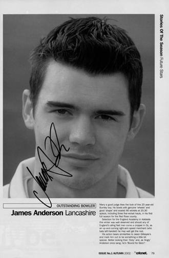 James-Anderson-autograph-signed-lancashire cricket memorabilia-England-test match leading wicket taker-jimmy