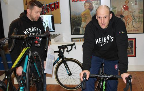 James Tredwell Testimonial 2017 Treddy Tredders Charity Bike Ride Kent Cricket Community Keith Herberts Cycles 1939 Whitstable KCCC