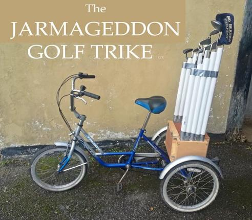 Jarmageddon-GT-Golf-Trike-tricycle-upcycle-uniquely-sporting-golfing-trolley-buggy-designer