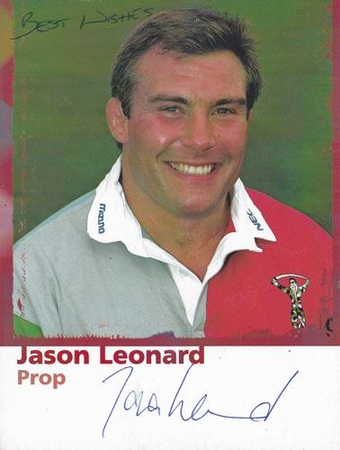 Jason-Leonard-autograph-signed-harlequins-rugby-memorabilia-england-prop-world-cup-2003-quins