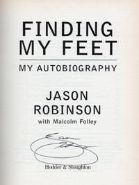 JASON ROBINSON (Wigan, Sale,  GB, England & Lions) signed autobiography