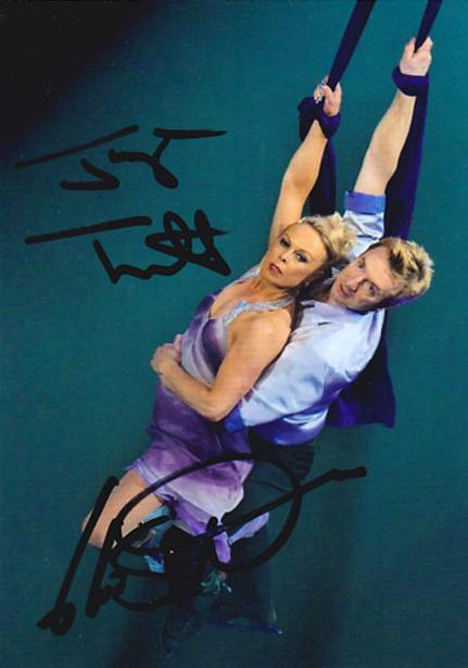 Jayne-Torvill-Christopher-Dean-signed-ice-dance-photo-skating-memorabilia-autograph