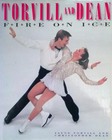 Jayne-Torvill-autograph-Christopher-Dean-autograph-signed-ice-dance-Olympic-skating-memorabilia-bolero-dancing-on-ice-torvill-and-dean-Fire-on-Ice-book