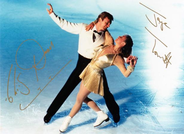 Jayne-Torvill-autograph-Christopher-Dean-autograph-signed-ice-dance-Olympic-skating-memorabilia-bolero-dancing-on-ice-torvill-and-dean-signature