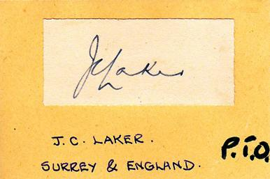 Jim-Laker-autograph-signed-Surrey-CCC-signature-card-county-cricket-memorabilia-England-test