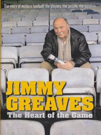Jimmy-Greaves-signed-football-memorabilia-book-autograph-Heart-of-the-Game-200