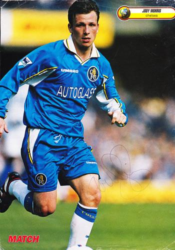Jody-Morris-autograph-signed-Chelsea-FC-football-memorabilia-poster-Match-mag