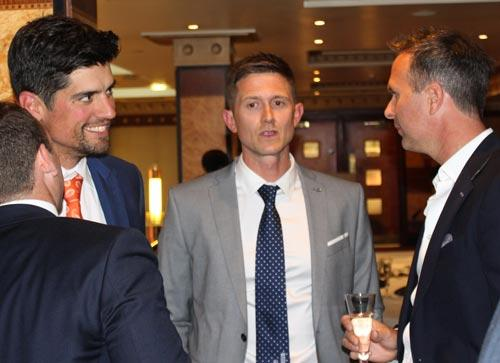Joe-Denly-Testimonial-2019-JD19-Alastair-Cook-Michael-Vaughan-England-captains-ashes-dinner