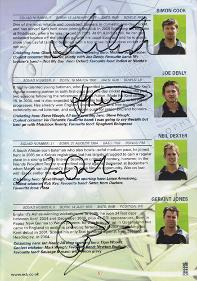 Joe-Denly-memorabilia-Kent-cricket-memorabilia-autograph-signed-2008-Friends-Provident-Final-programme-memorabilia-Cook-Dexter-Geraint-Jones-KCCC-Spitfires-Essex