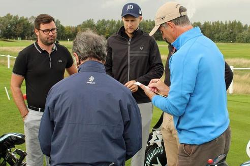 Joe-Root-Joe-Denly-testimonial-golf-day-Royal-St-Georges-first-tee-england-cricket-captain-stephen-billings
