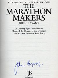 JOHN BRYANT signed copy of