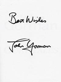 John-Gorman-autograph-spurs-football-memorabilia-signed-book-autobiography-gory-tales-glenn-hoddle-swindon-town-tottenham-hotspur-white-hart-lane-first-edition-signature