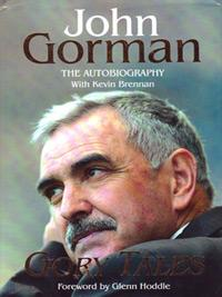 John-Gorman-autograph-spurs-football-memorabilia-signed-book-autobiography-gory-tales-glenn-hoddle-tottenham-hotspur-swindon-town-white-hart-lane-first-edition-manager