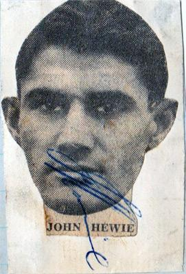 John-Hewie-autograph-signed-Charlton-Athletic-FC-football-memorabilia-signature-photo-CAFC-Addicks-scotland-south-africa-signature-bexley-united-manager