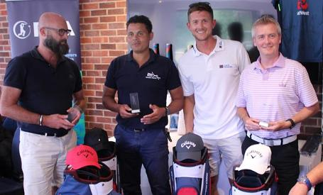 John-Salako-team-winners-joe-denly-golf-day-westerham-gc